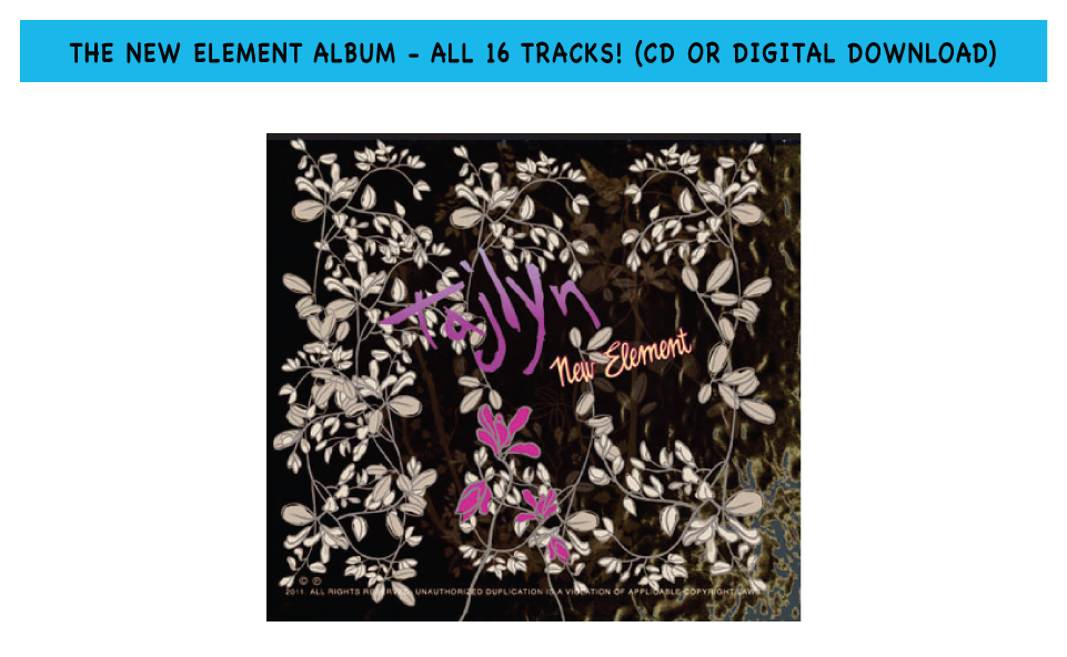 The New Element Album - all 16 tracks! Compact disc or digital download - your pick.