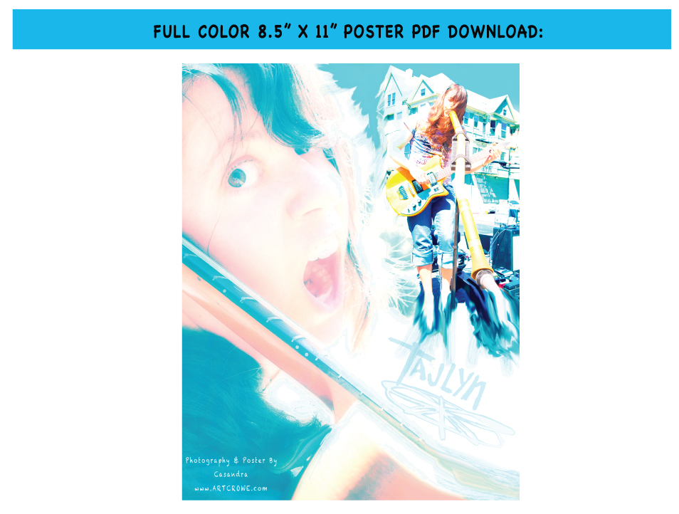"FULL COLOR 8.5"" X 11"" POSTER PDF DOWNLOAD"